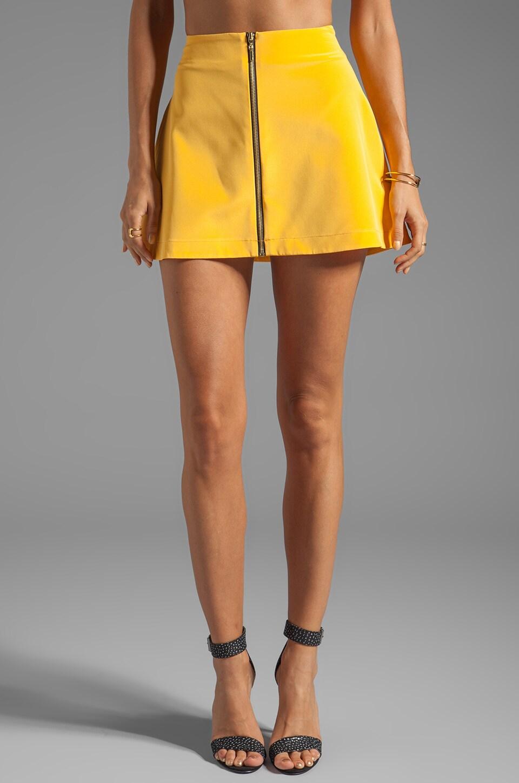 Naven Mod Skirt in Mustard