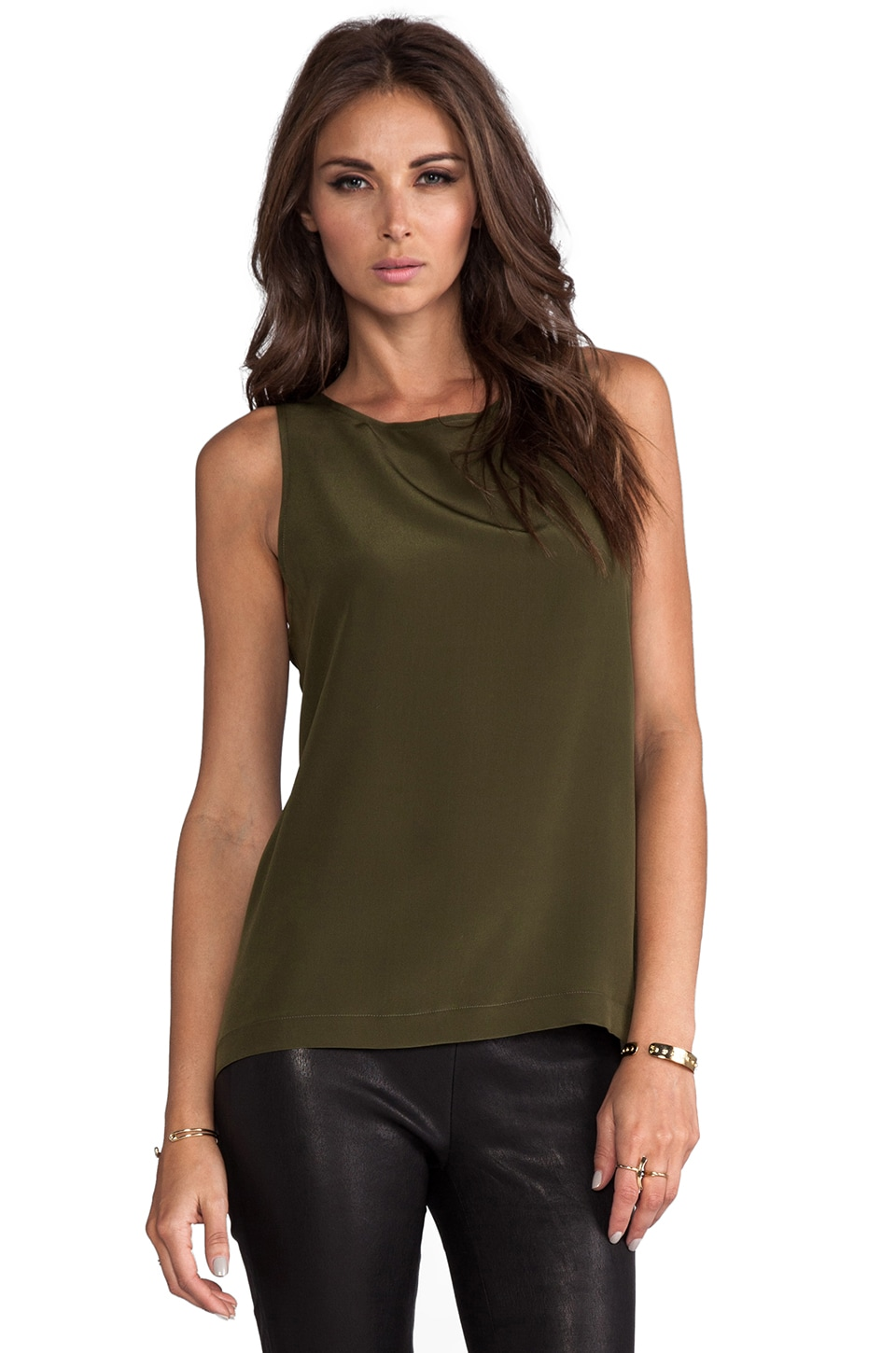 Naven Muscle Tank in Army