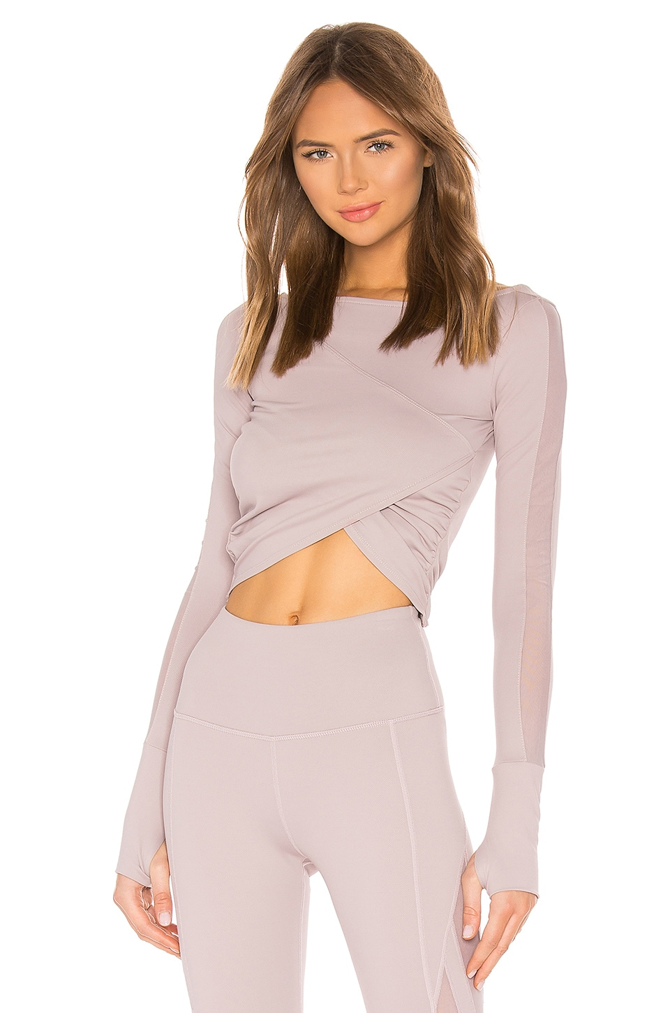 Nylora Rue Top in Mauve