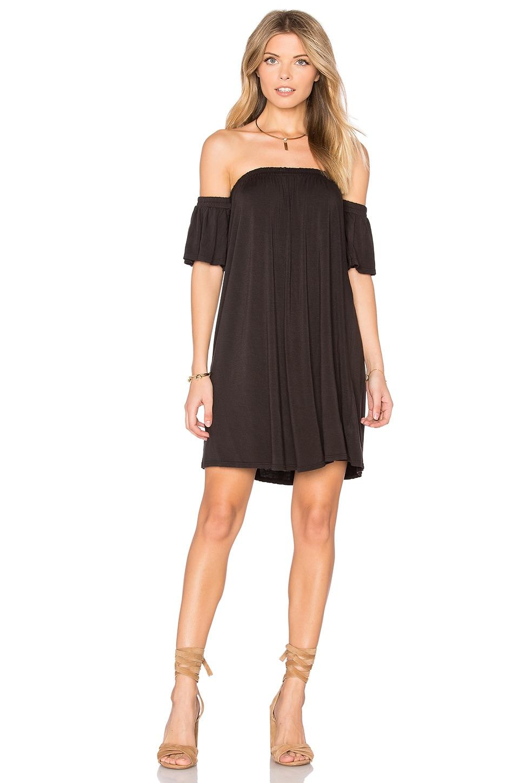 NYTT Off Shoulder Dress in Black