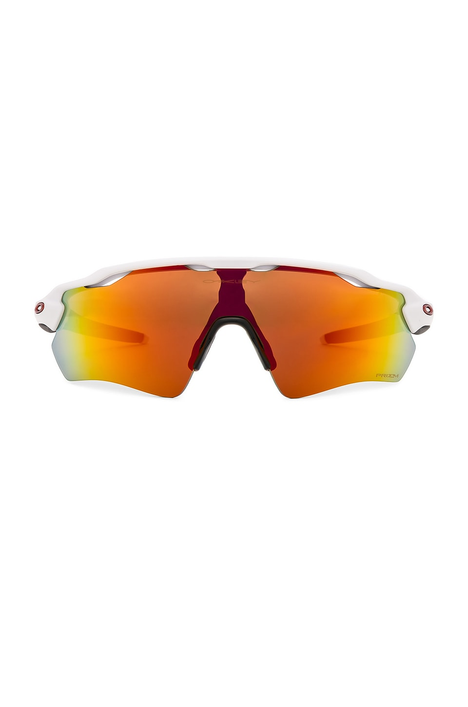 Oakley Radar EV Path in Polished White & Prizm Ruby