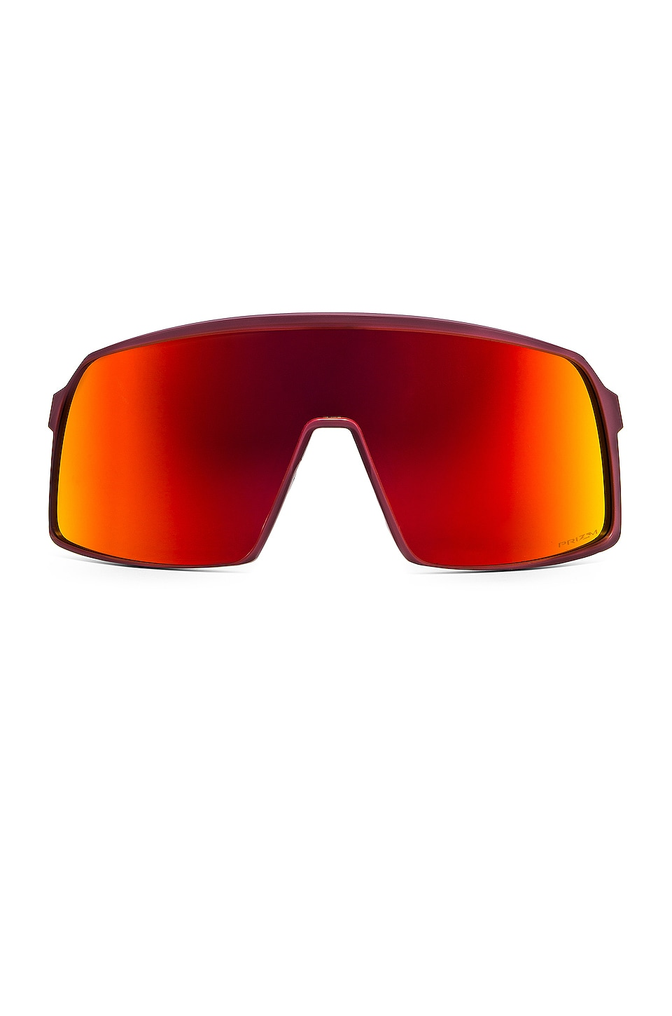 Oakley Sutro in Matte Burgundy & Prizm Ruby