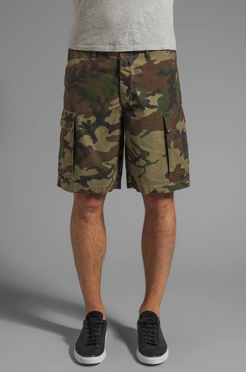 Obey Recon Cargo Short in Field Camo