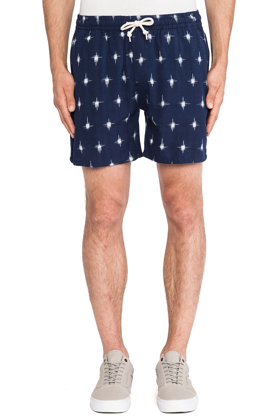 Obey Pueblo Chino Short in Indigo