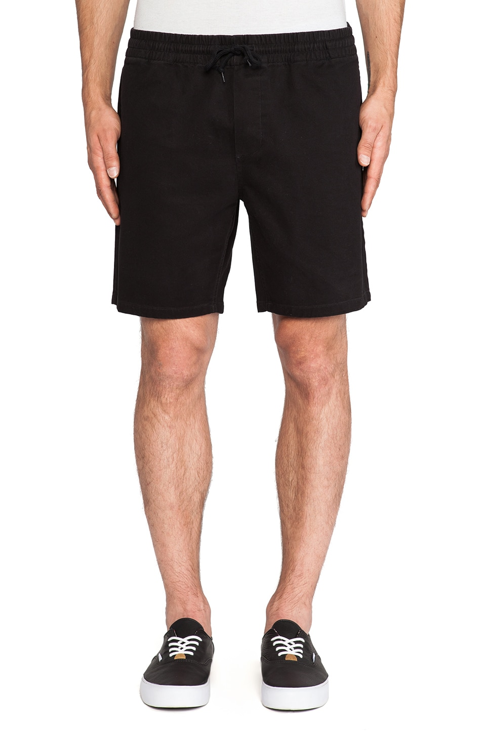 Obey 5th St. Chino Short in Black