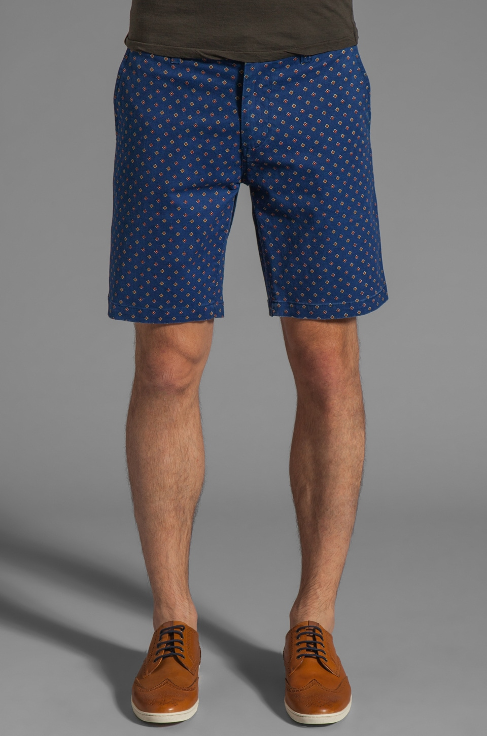 Obey Tarmac Short in Navy