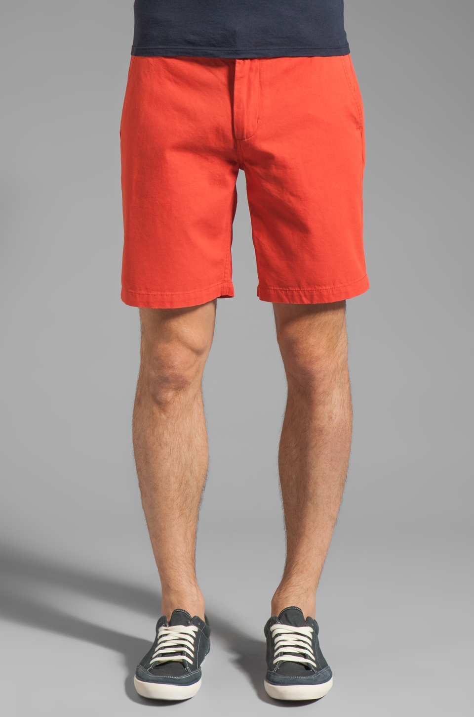Obey Angler Short en Burnt Sienna