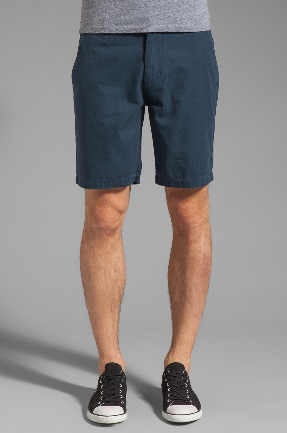 Obey Angler Short in Mood Indigo