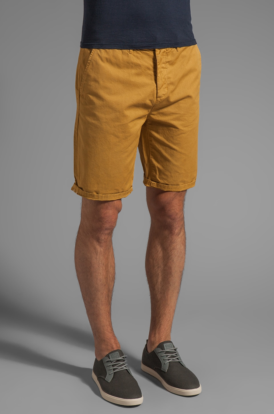 Obey Classique Short in Inca Gold