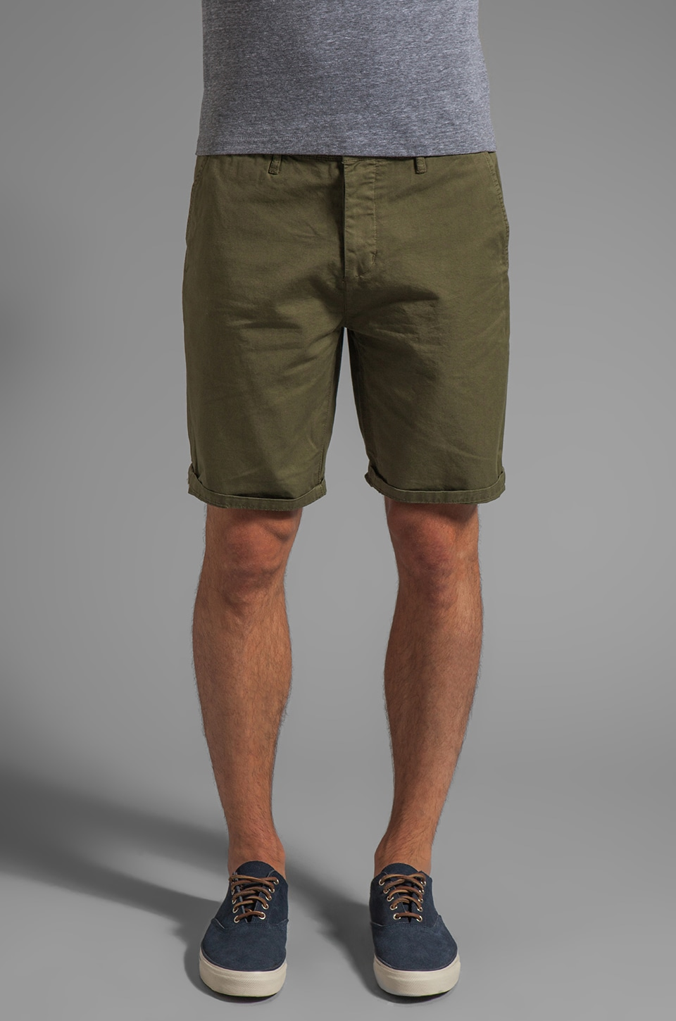Obey Classique Short in Avocado