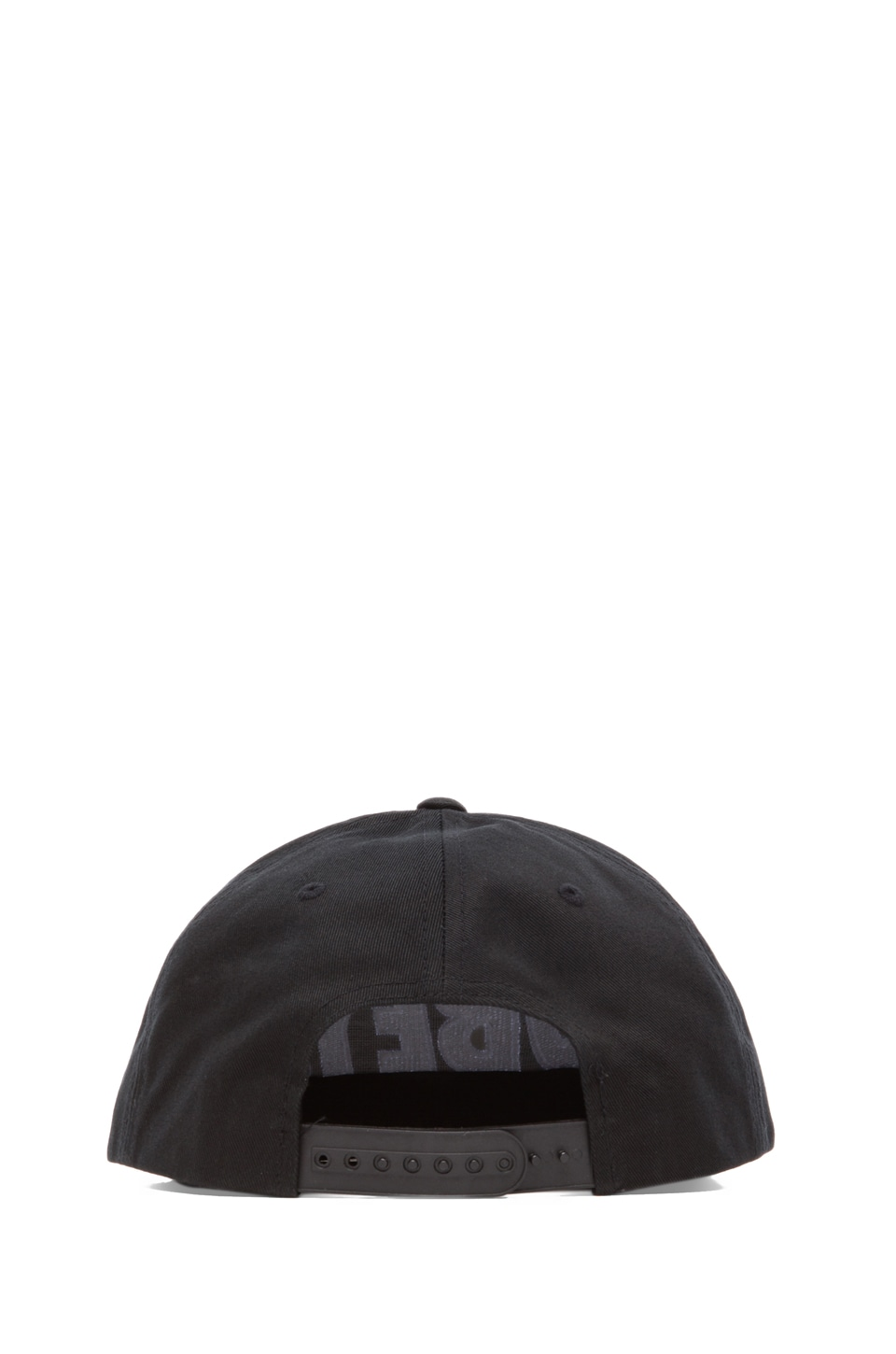 Obey The City Snapback in Onyx