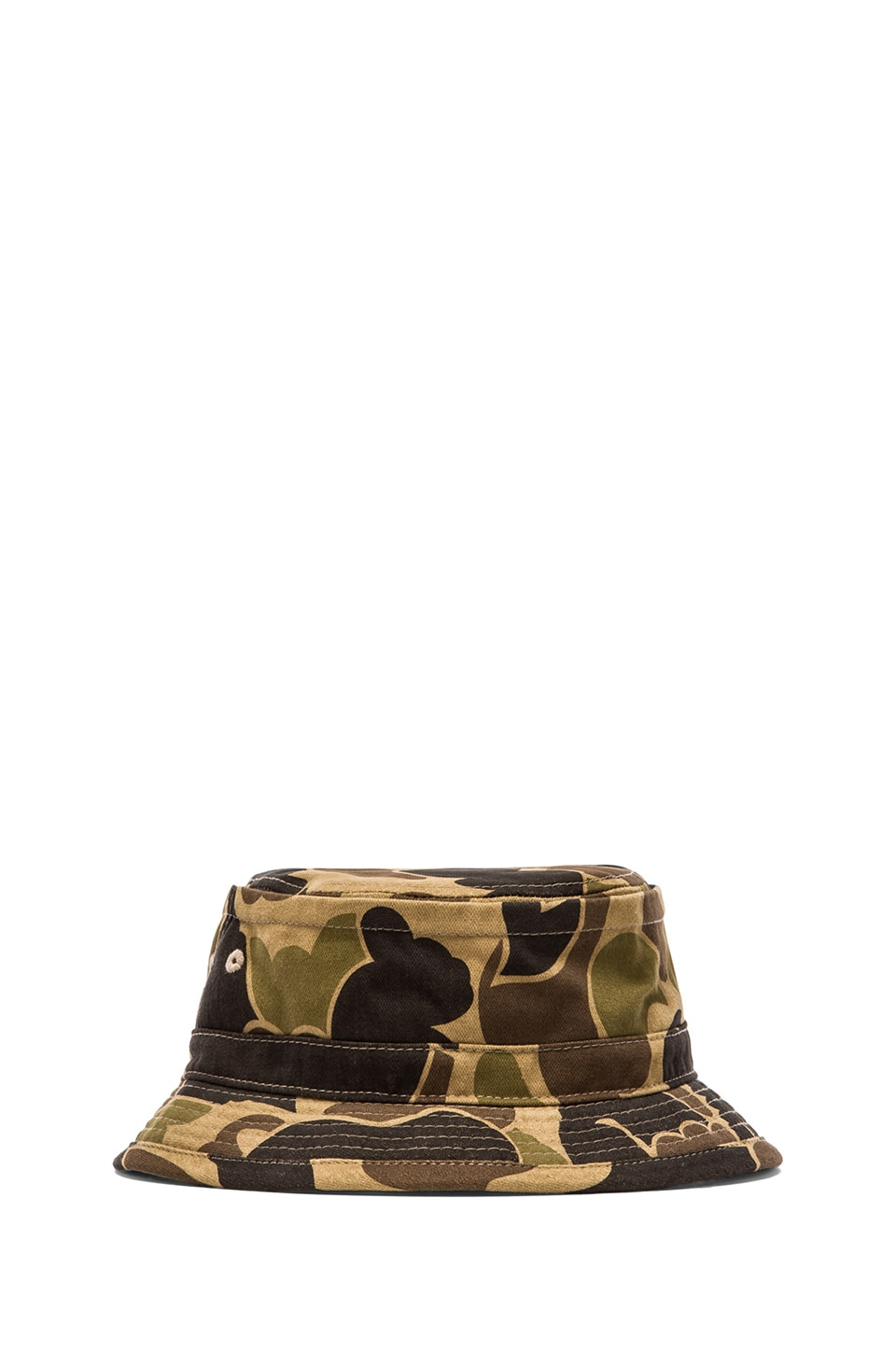 Obey Uplands Bucket Hat in Bubble Camo