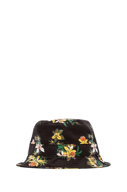 Obey Sativa Floral Bucket Hat in Black