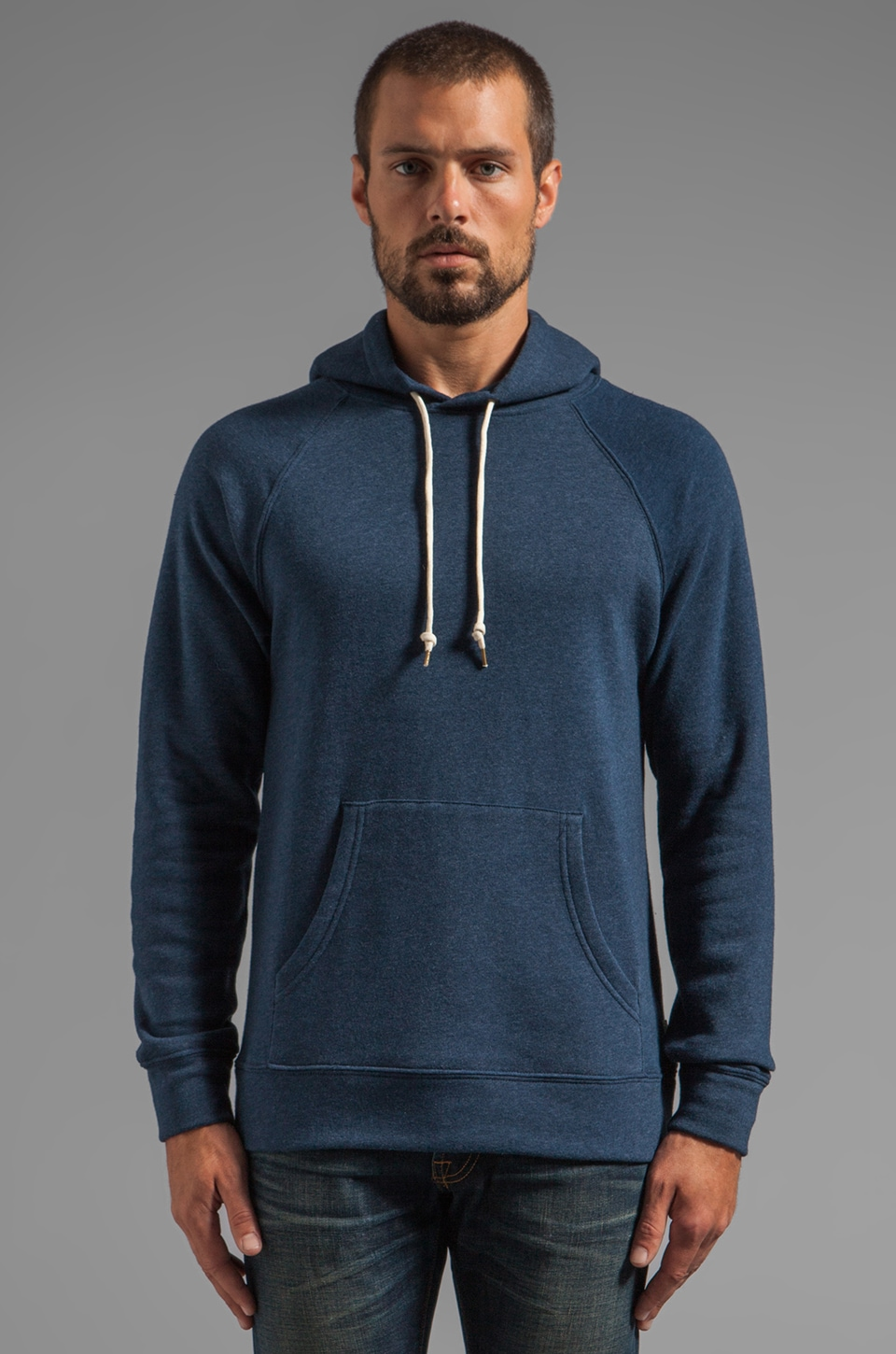 Obey Lofty Creature Comforts Pullover in Dark Navy
