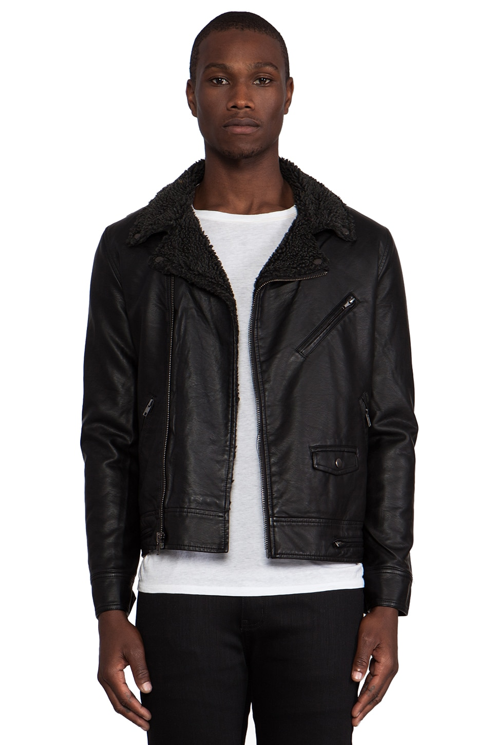 Obey Dirty Bastards Jacket in Black