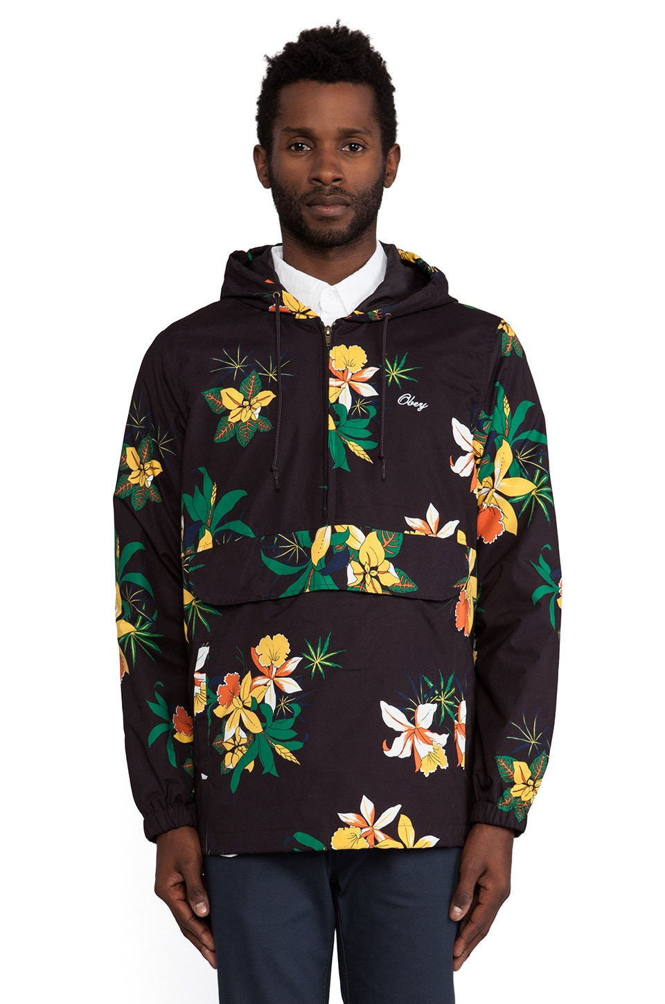 Obey Pipeline Jacket in Black
