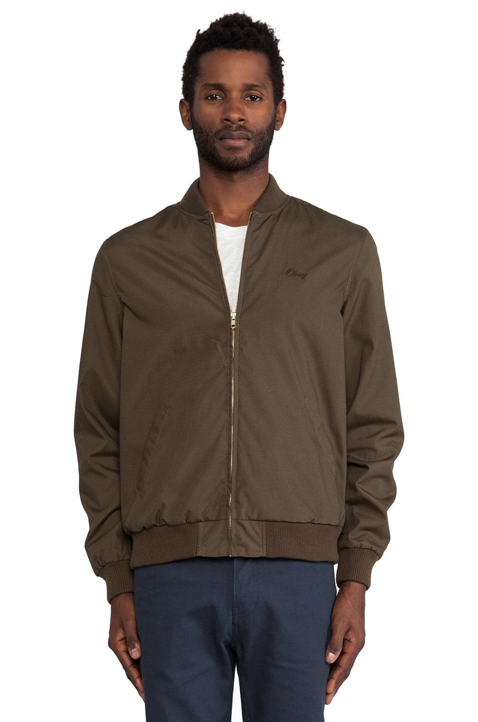 Obey Coastline Jacket in Army
