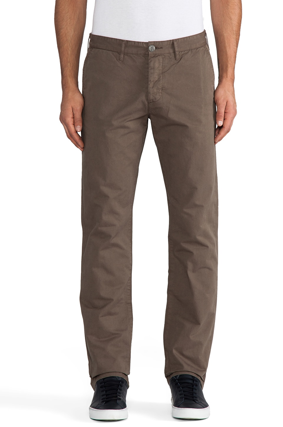 Obey Classique Chino Pants in Dark Olive