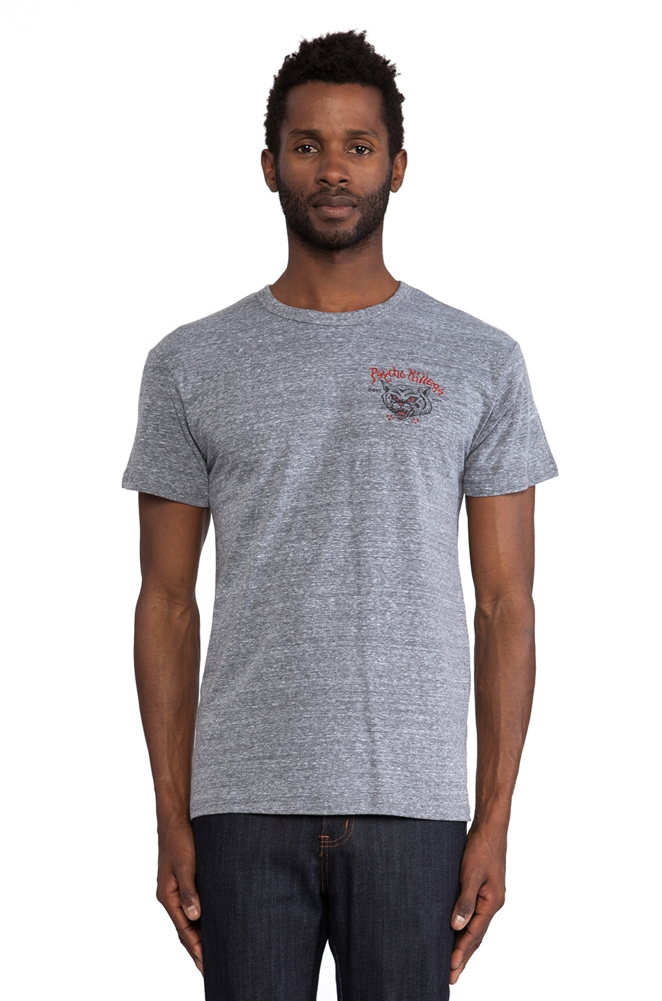 Obey Psycho Killers Tee in Heather Grey