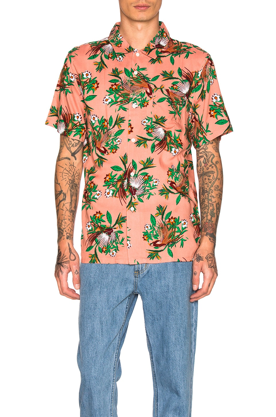Paradise S/S Shirt by Obey