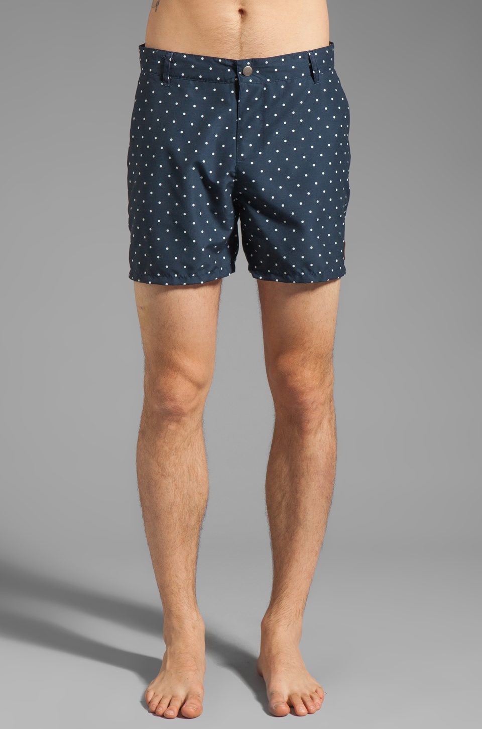 Obey Lido Island Boardshort in Navy