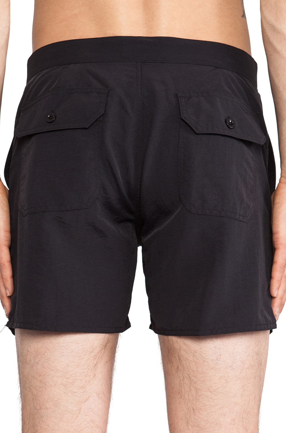 "Obey Inlet II Street Trunk 5"" Inseam in Black"