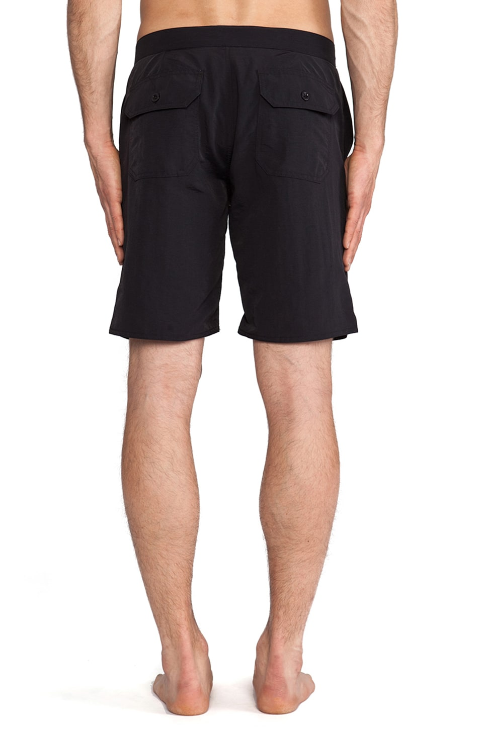 "Obey Inlet II Street Trunk 9"" Inseam in Black"