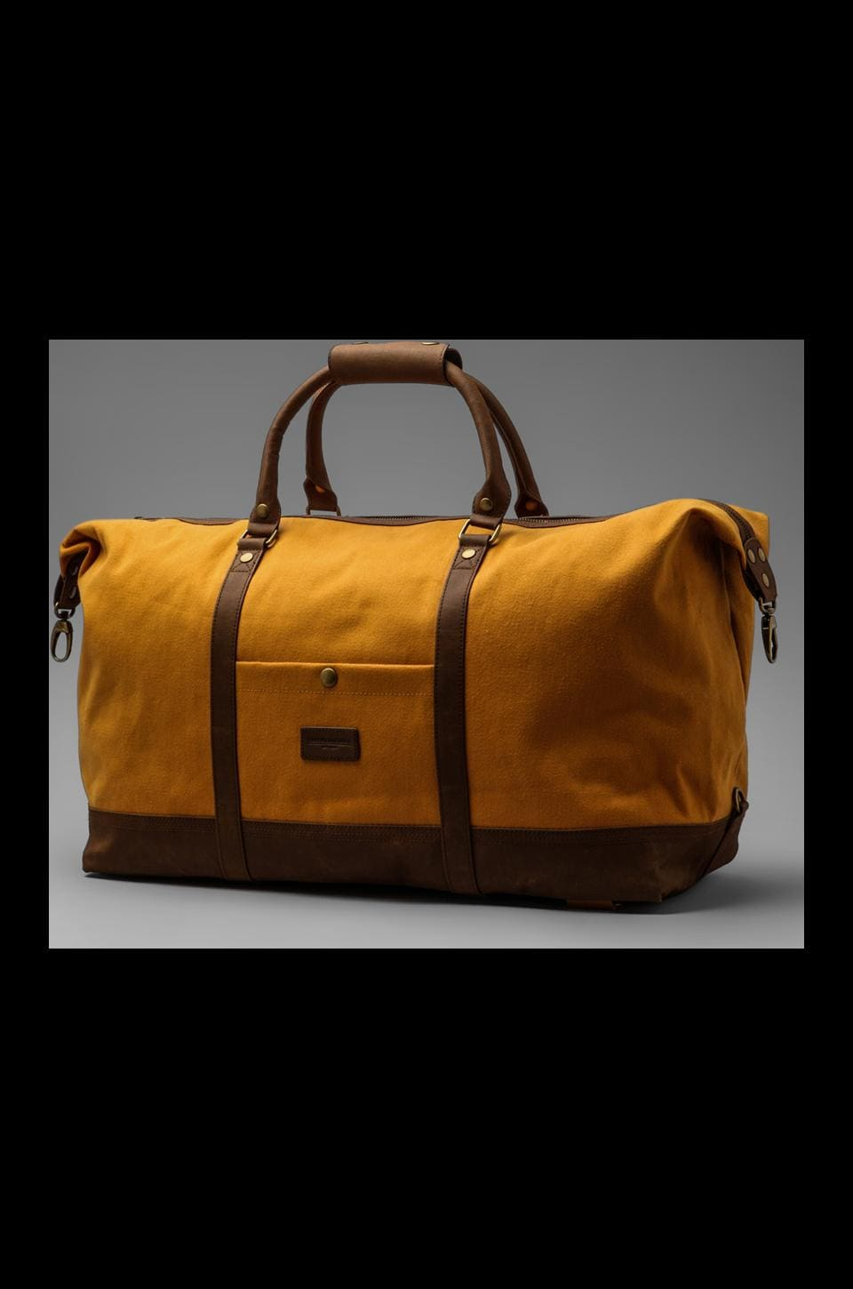 Obey Uptown Duffle in Inca Gold