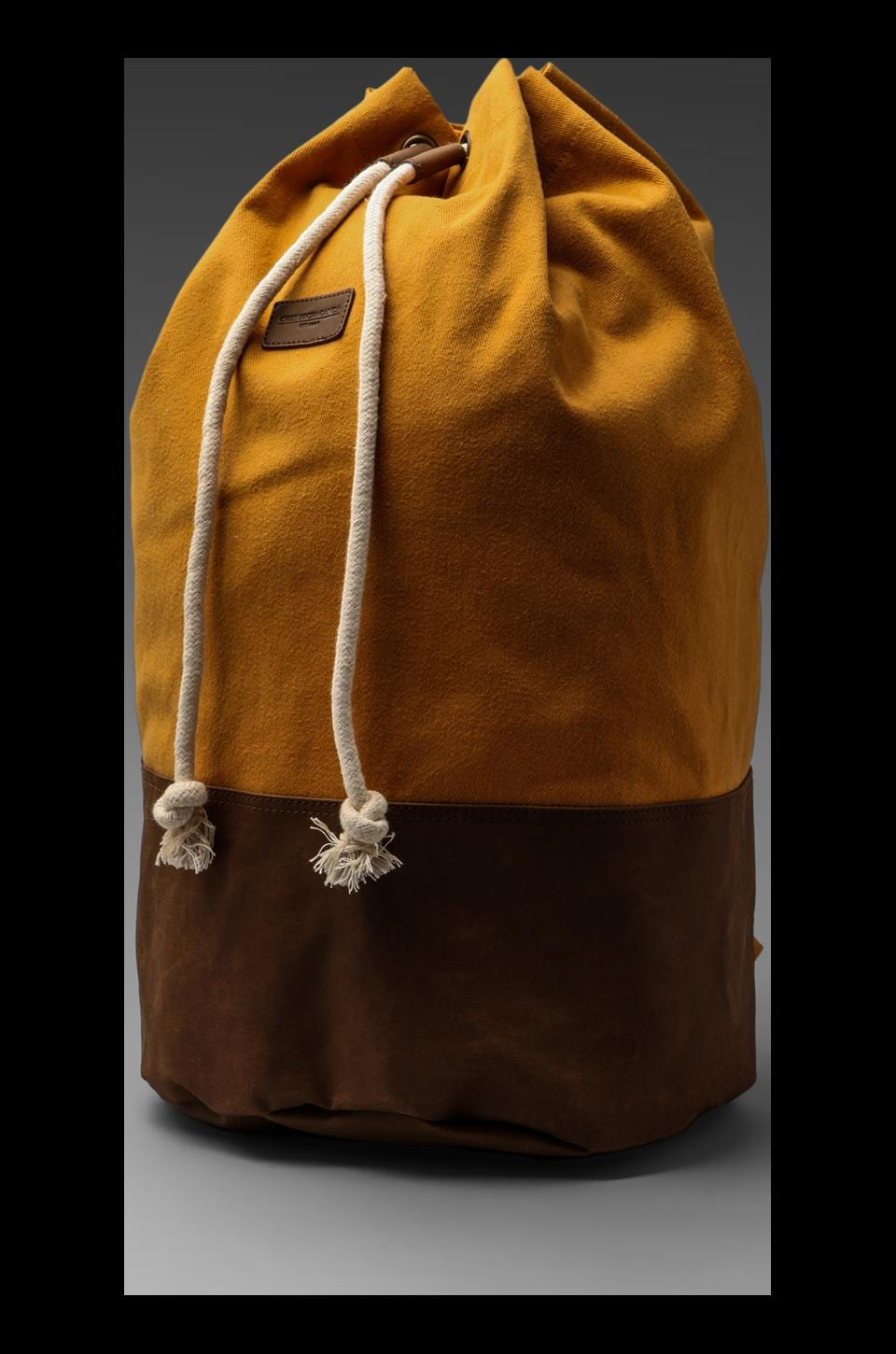 Obey Uptown Duffle Backpack in Inca Gold