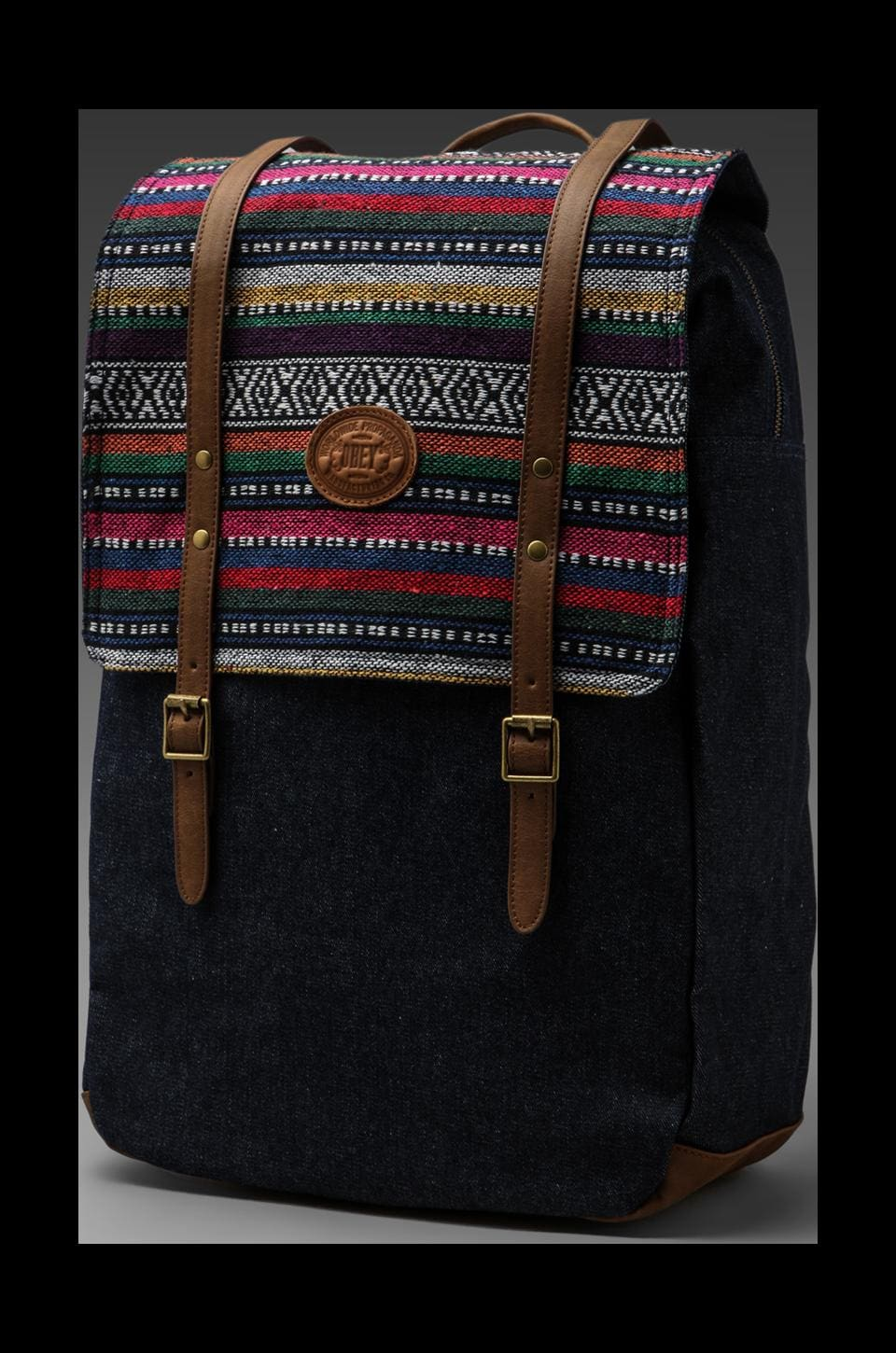 Obey Mojave Map Backpack in Indigo