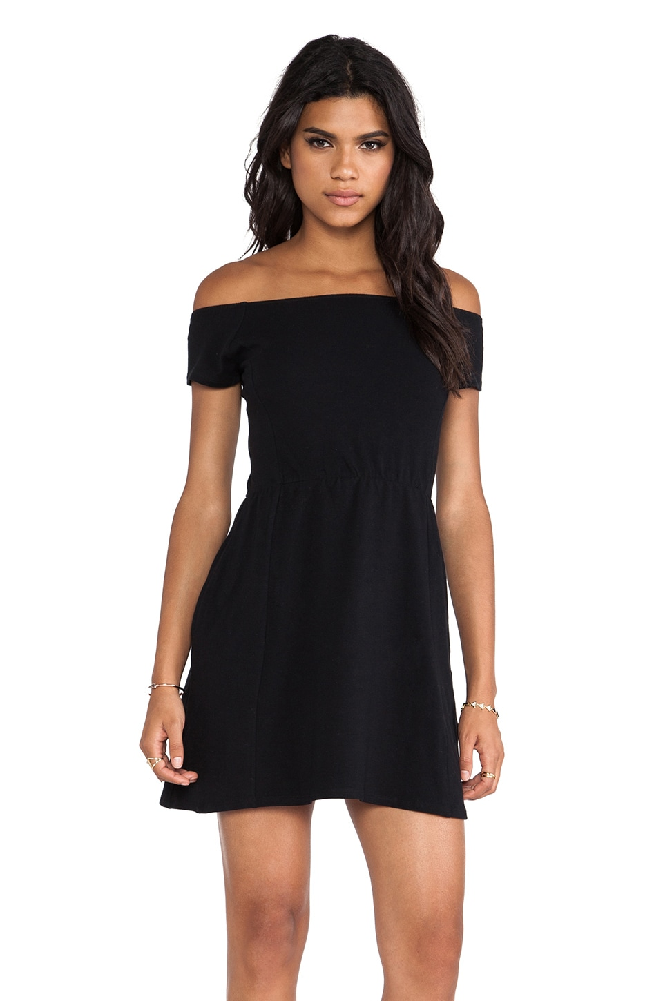 Obey Rockaway Train Dress in Black