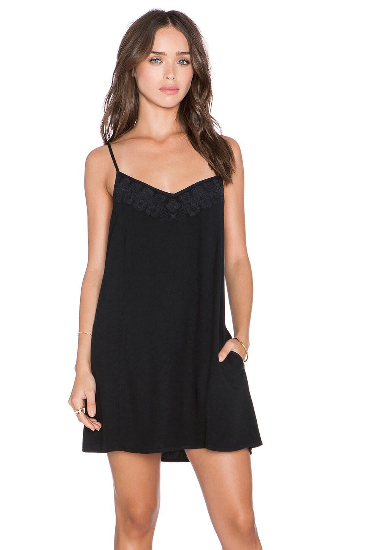 Obey Amaya Dress in Dusty Black