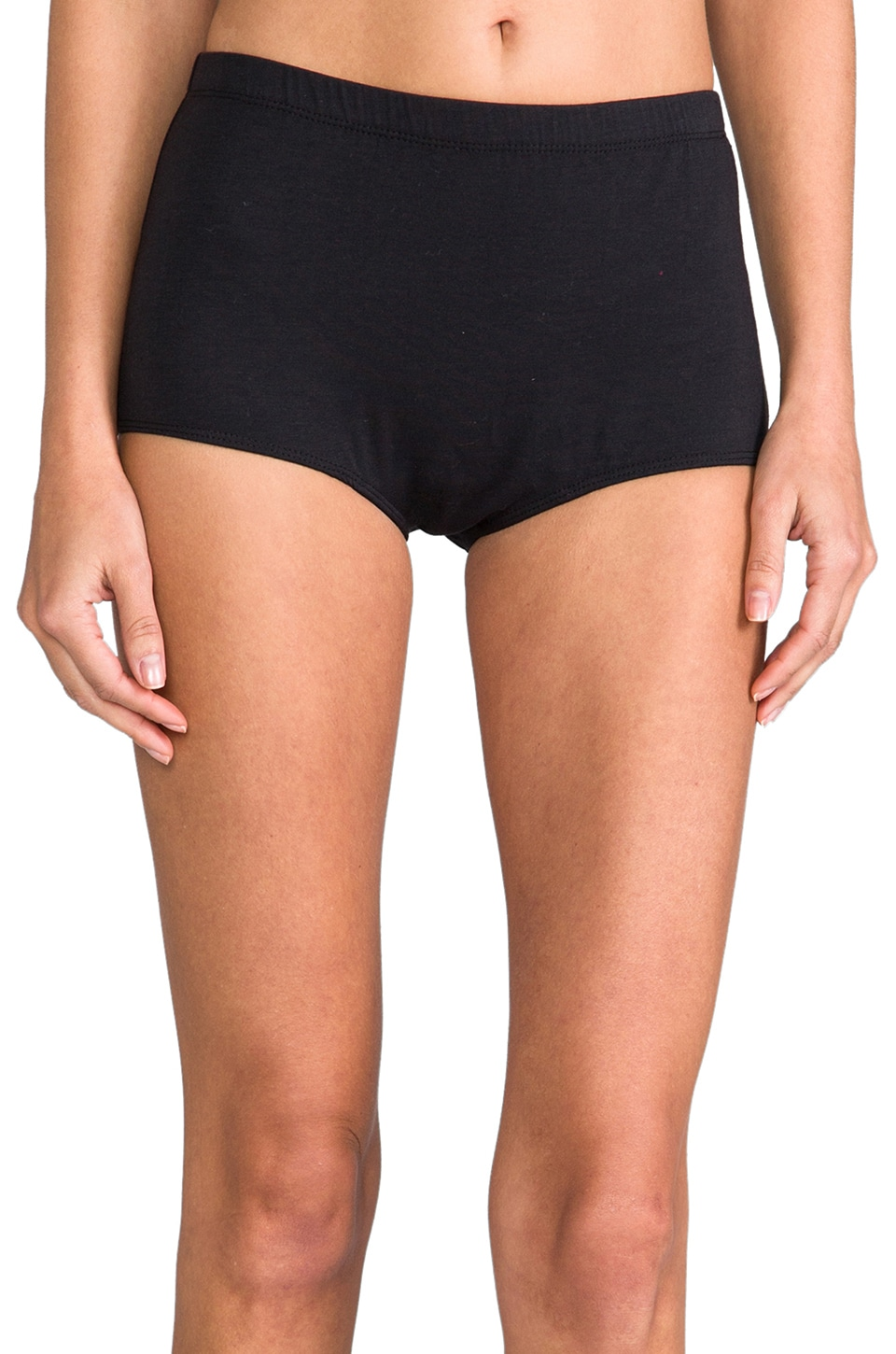Obey Annabelle Hot Shorts in Black