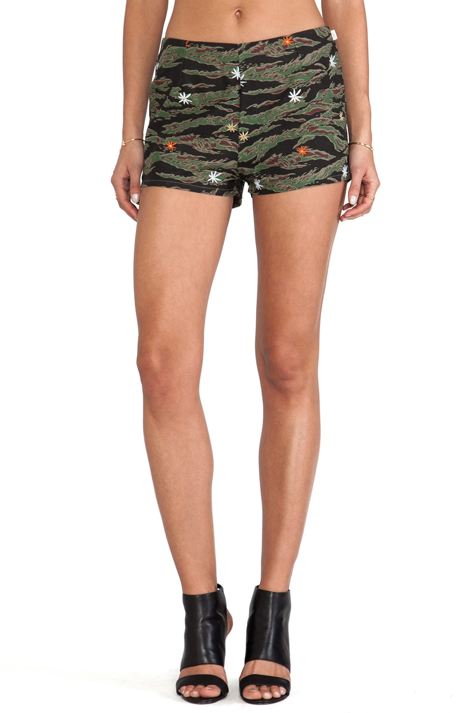 Obey Dylan Short in Tiger Camo