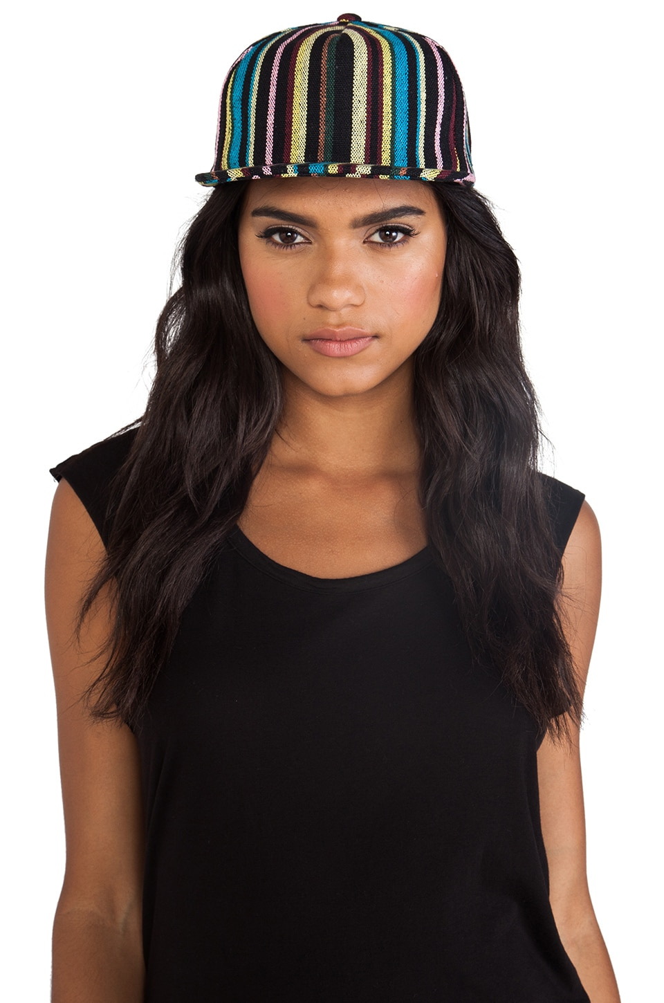 Obey Tangier Hat in Black