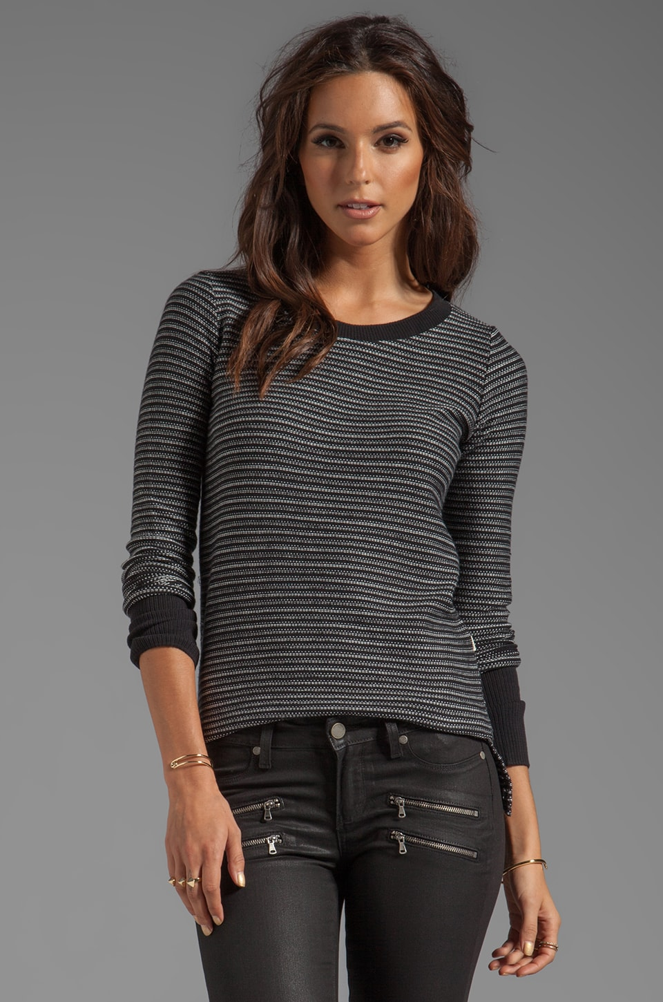 Obey Distant Shore Sweater in Black