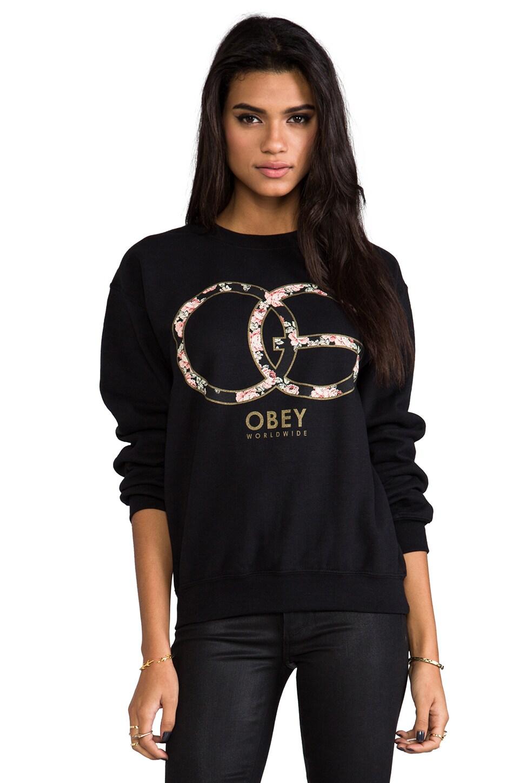 Obey Emporium Sweatshirt in Black