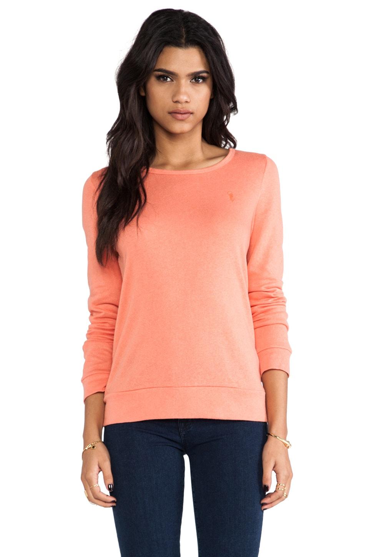 Obey Wakefield Sweatshirt in Coral