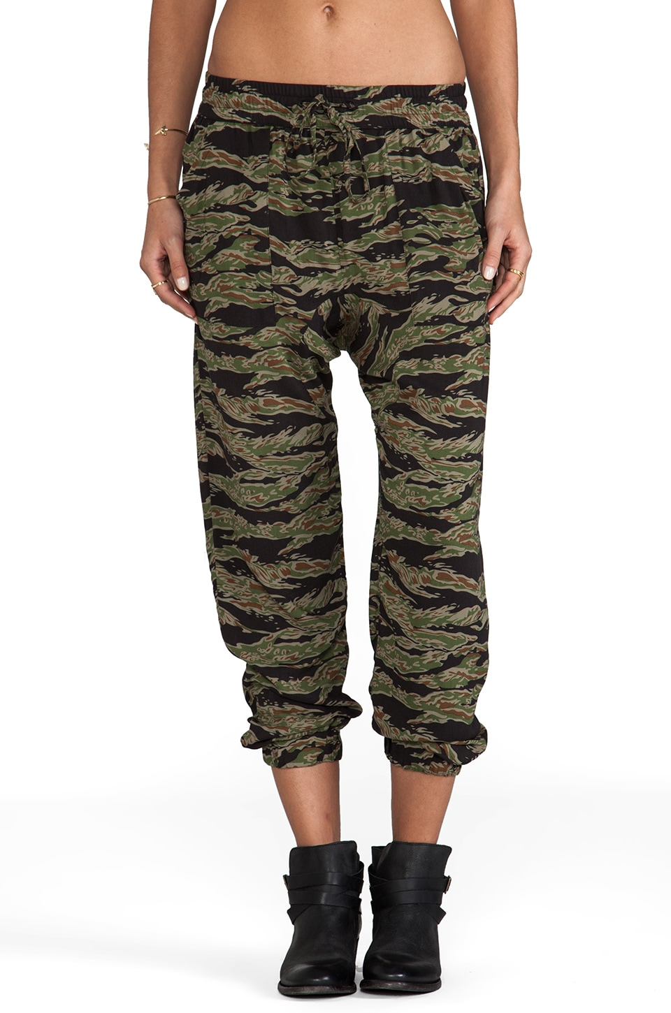 Obey Keegan Pant in Tiger Camo