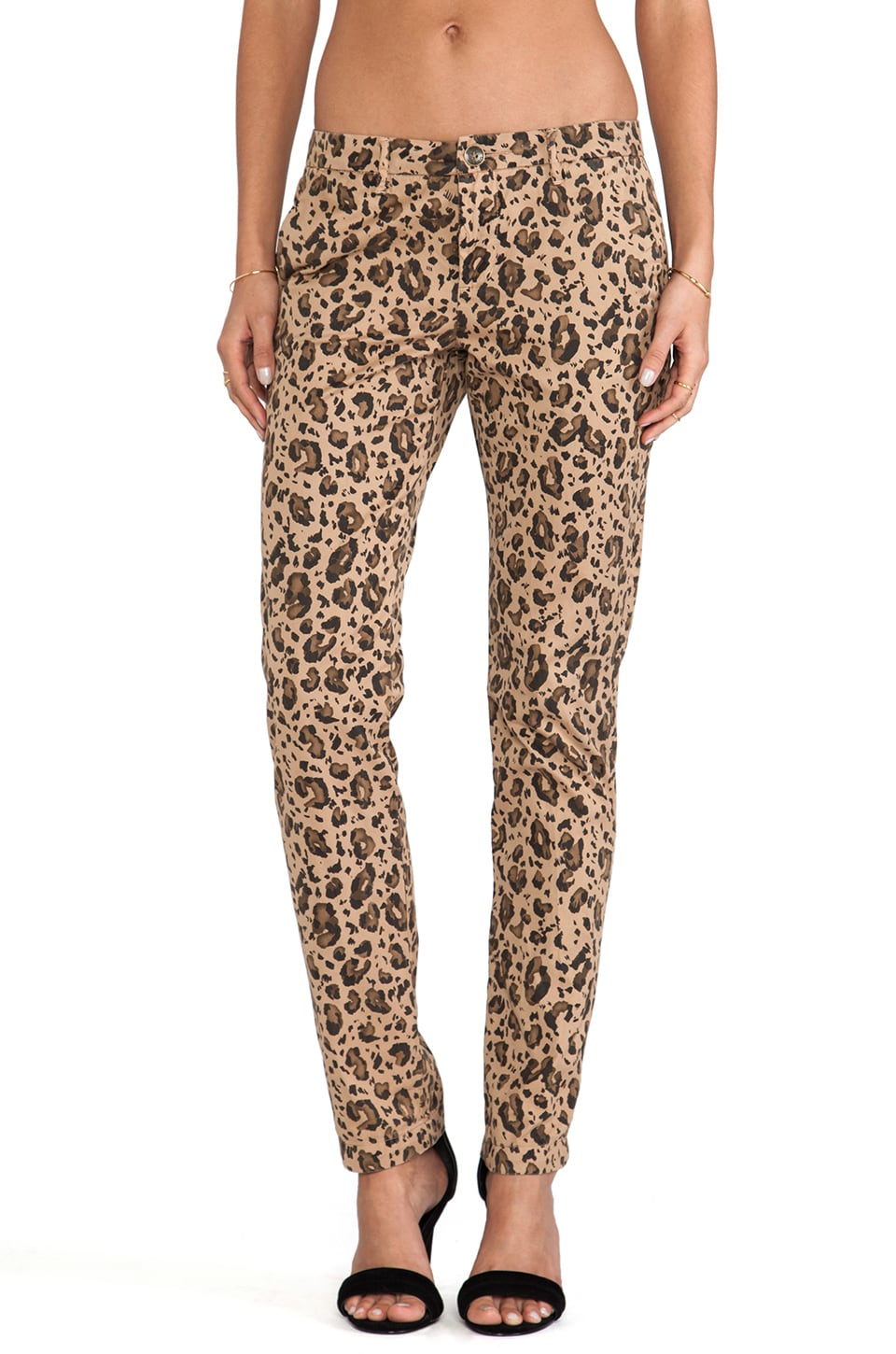 Obey Hamptons Rollers Pant in Leopard