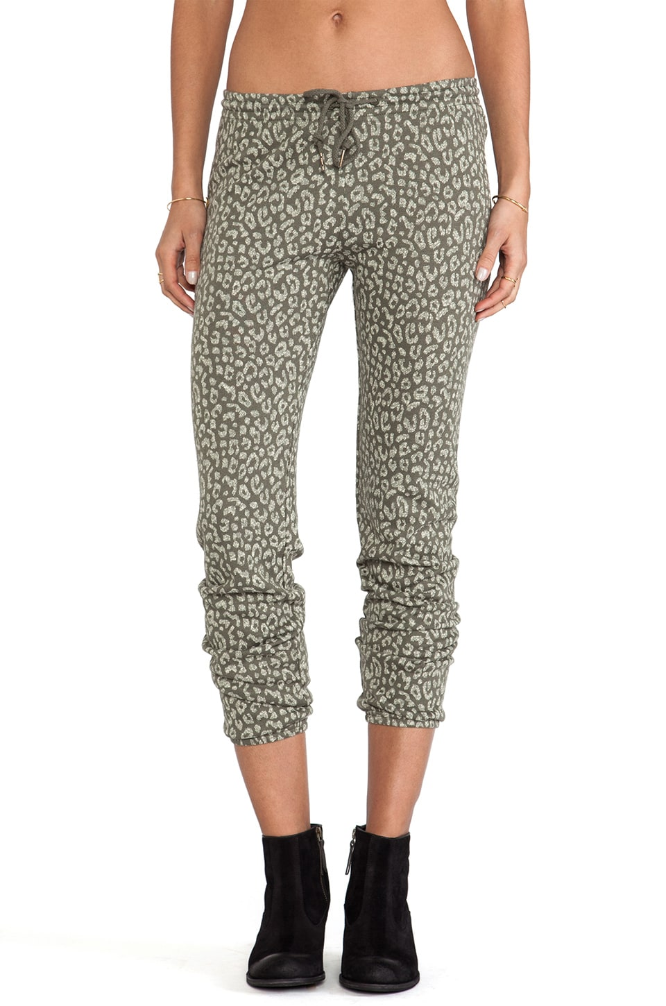 Obey Lola Sweatpants in Dusty Olive