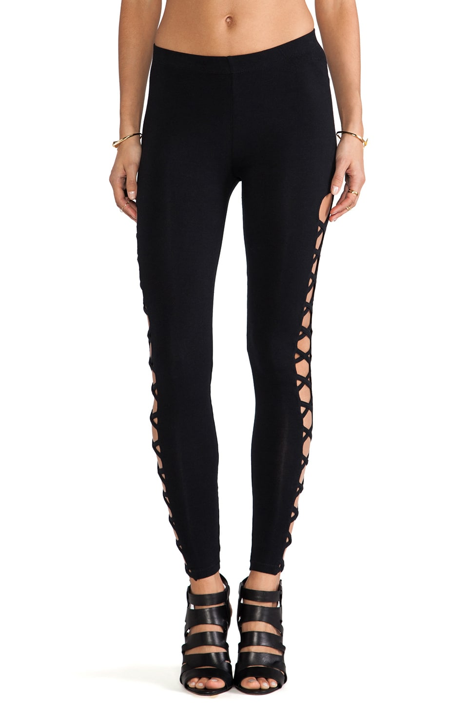 Obey Wild Child Legging in Black