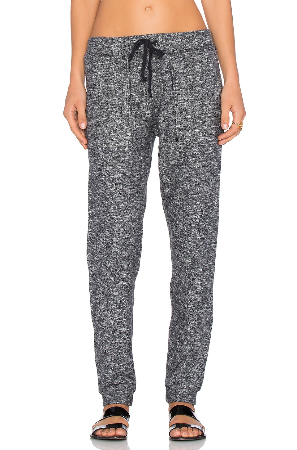 Obey Rhodes Pant in Heather Black
