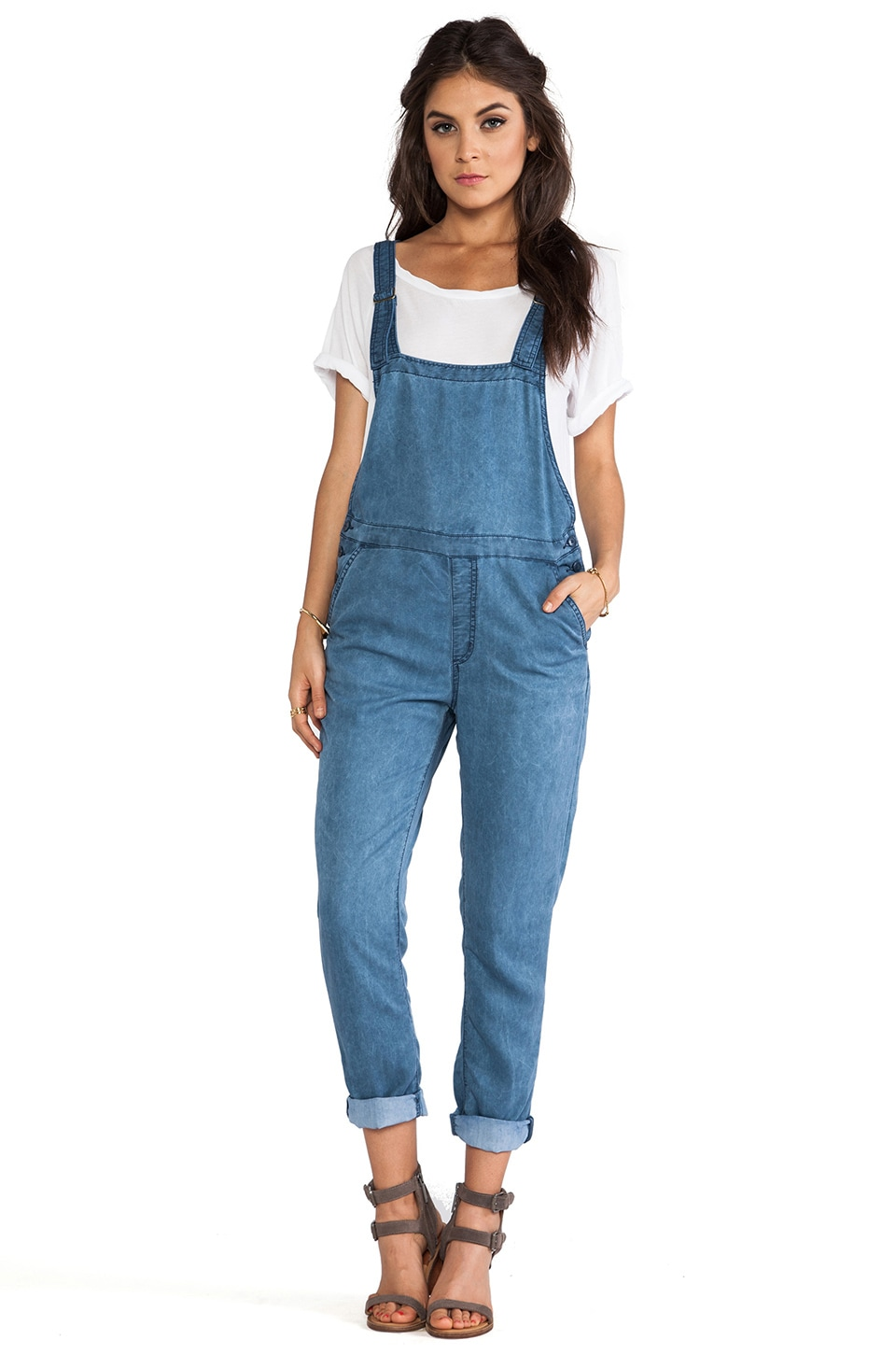 Obey Alexia Overall in Indigo