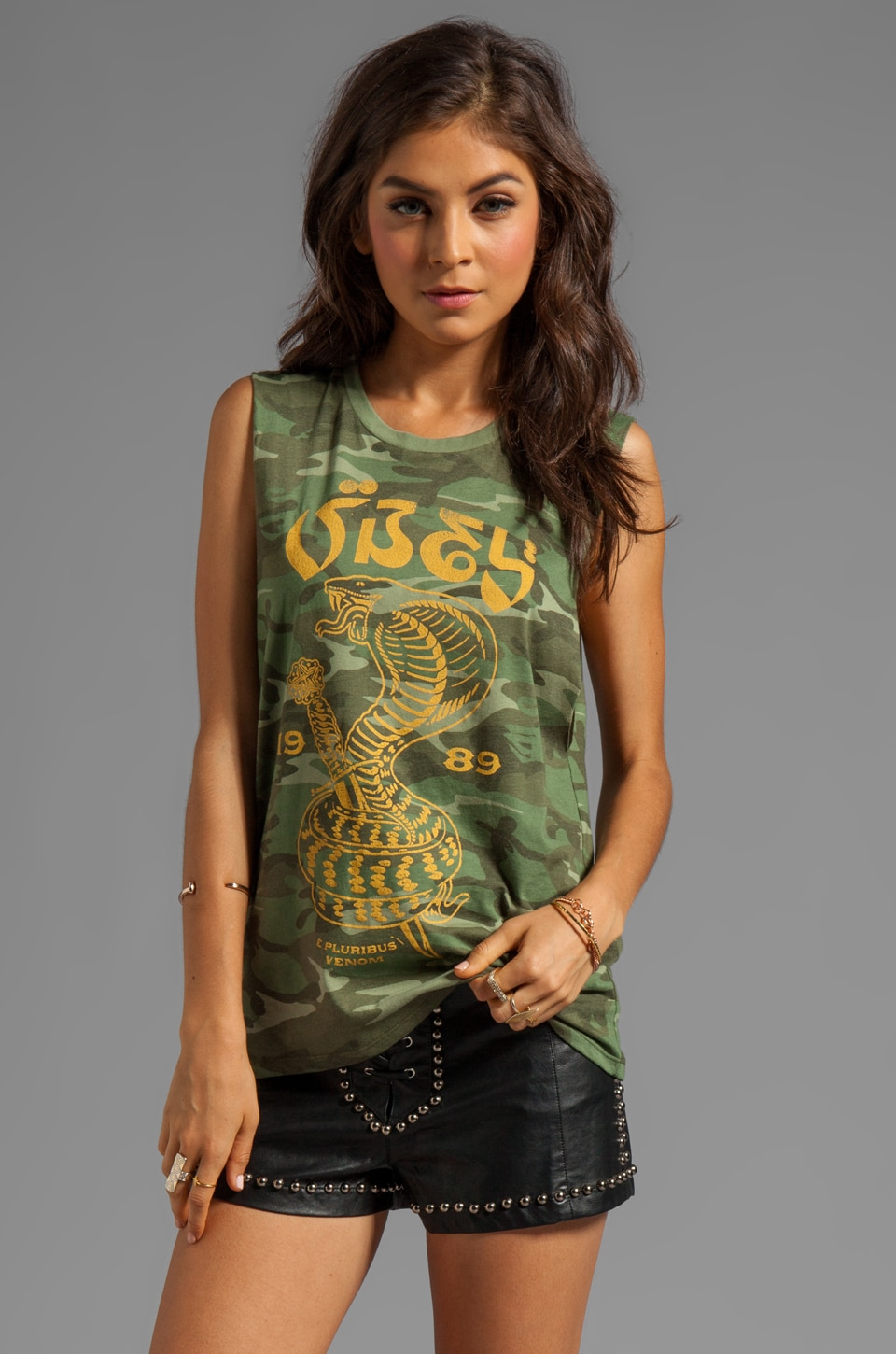 Obey Eplucobra Tank in Classic Camo
