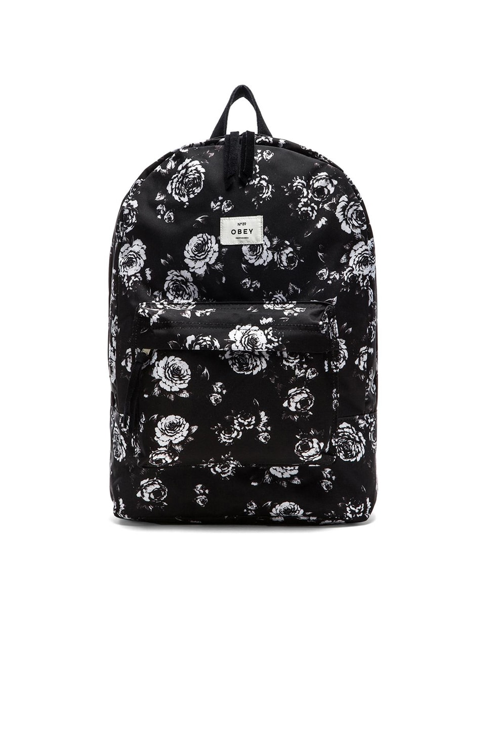 Obey Outsider Backpack in Black Multi