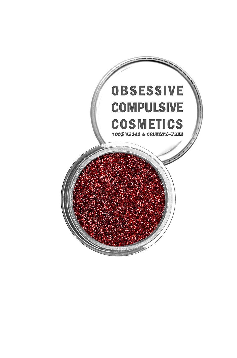 Obsessive Compulsive Cosmetics Cosmetic Glitter in Red