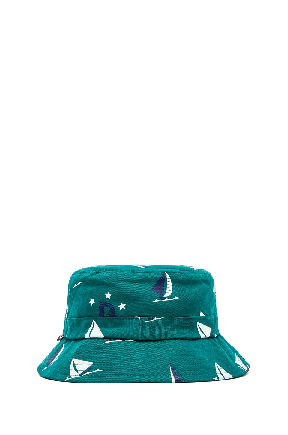 Odd Future Earl Sinking Boat Bucket Hat in Green
