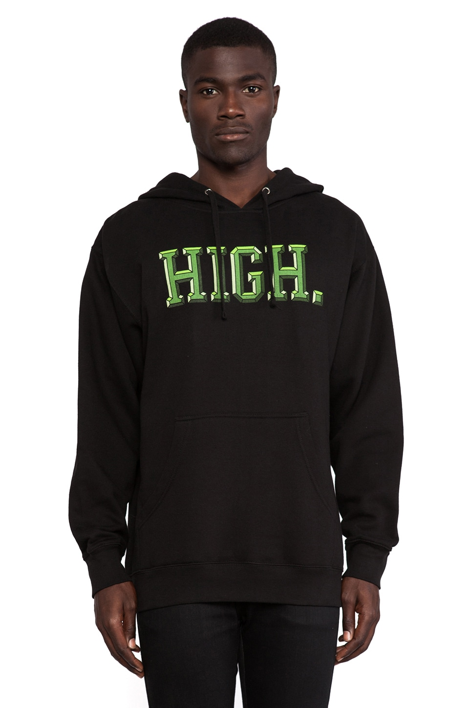 Odd Future Domo High University Hoodie in Black