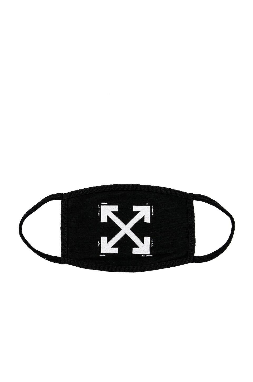 OFF-WHITE Arrow Mask in Black & White